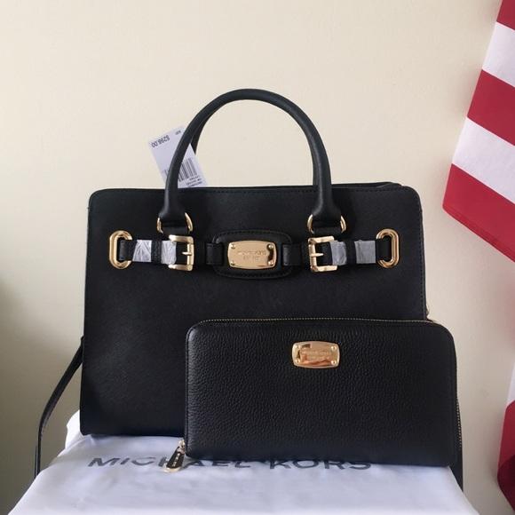 1fab0bc03db8 Michael Kors Bags | Nwt Hamilton Satchel With Xl Wallet | Poshmark